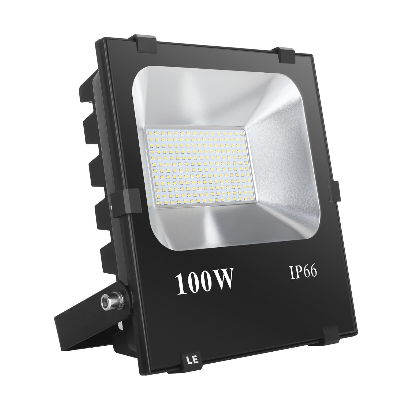 100W LED Strahler, 10000lm Flutlichtstahler, entspricht 400W herkßmmliche Halogen-Leuchtmittel, wasserdicht, Kaltweiß, Außenfluter
