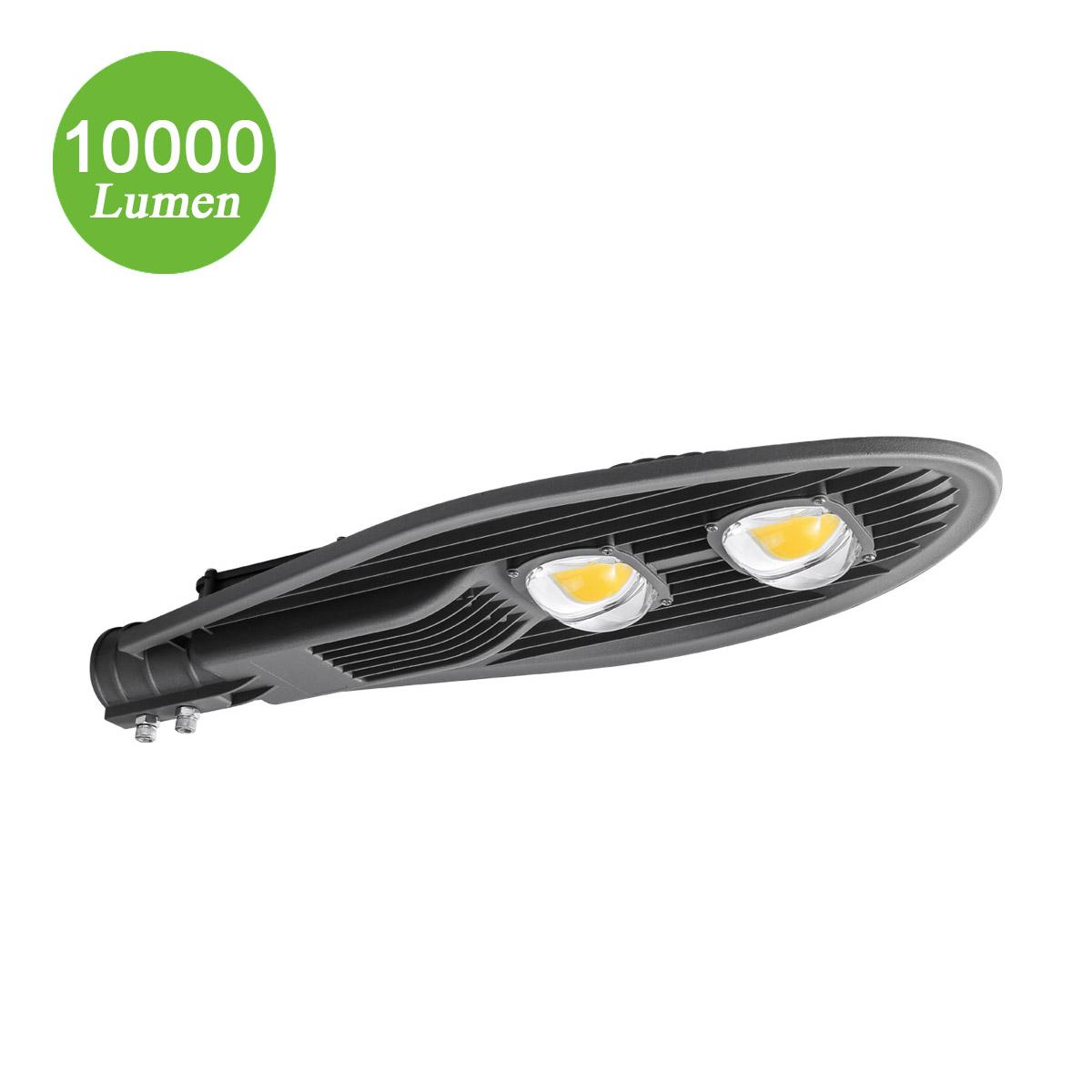 100W Gartenlampen, Φ55-63mm, 10000lm Straßenbeleuchtung, entspricht 250W NH-Lampe, Kaltweiß
