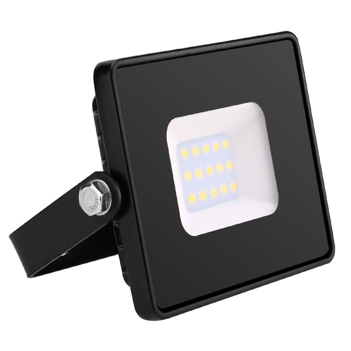 LED Fluter, 10W 800lm Flutlicht, ersetzt 100W Halogenlampe, IP65 Wasserdicht Außenleuchten, Warmweiß Flutlichtstrahler, Strahler