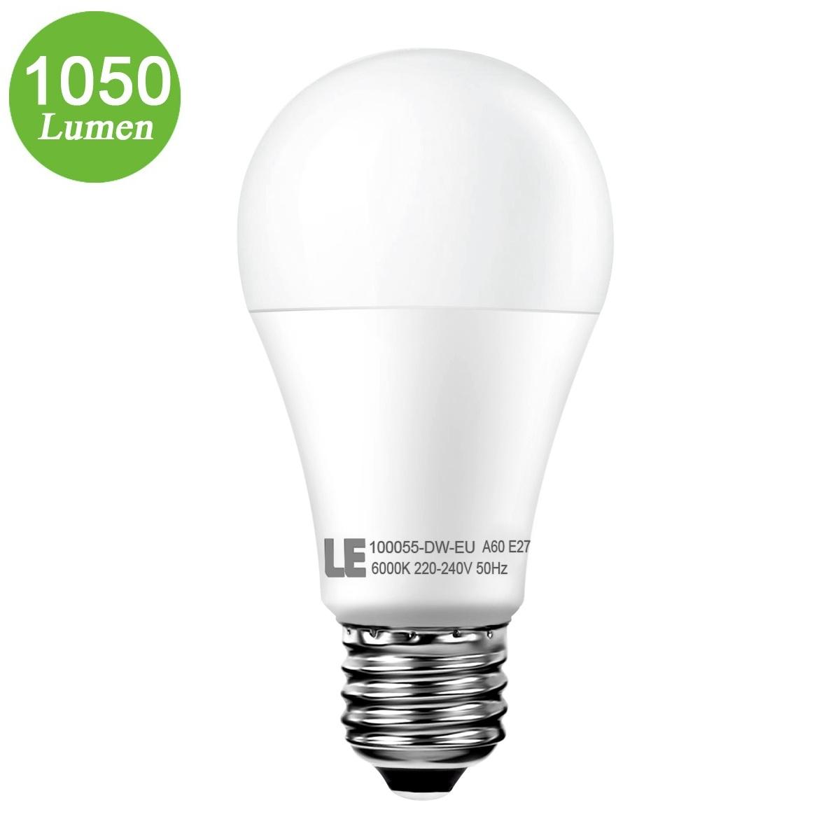 12W A60 E27 LED Birnen, 1050lm GLS Lampen, Entspricht einer 75W Glühbirne, Kaltwei?