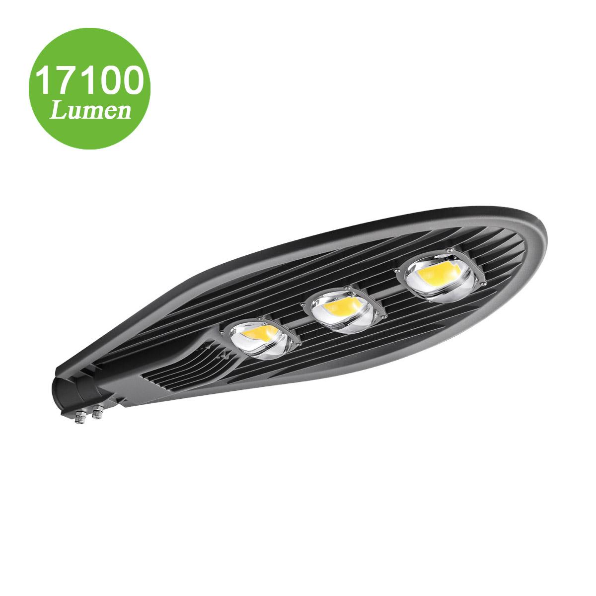 180W Gartenlaterne, Φ60-68mm, 17100lm Gartenbeleuchtung, entspricht 500W NH-Lampe, Kaltweiß