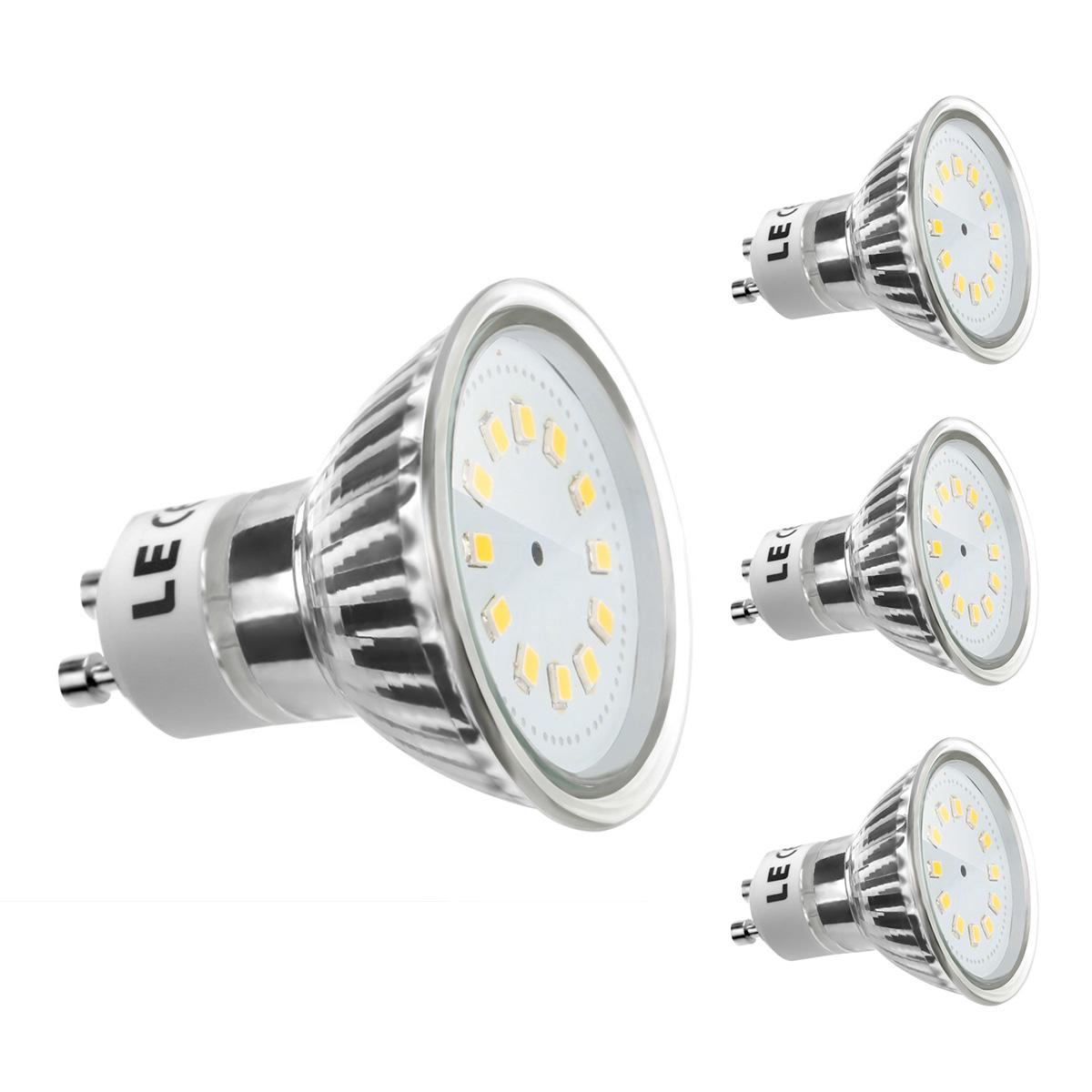 [Bündel] 2,5W GU10 Fassung, MR16 200lm LED Strahler, Ersatz für 35W Halogenlampe, Warmweiß, 3er Set