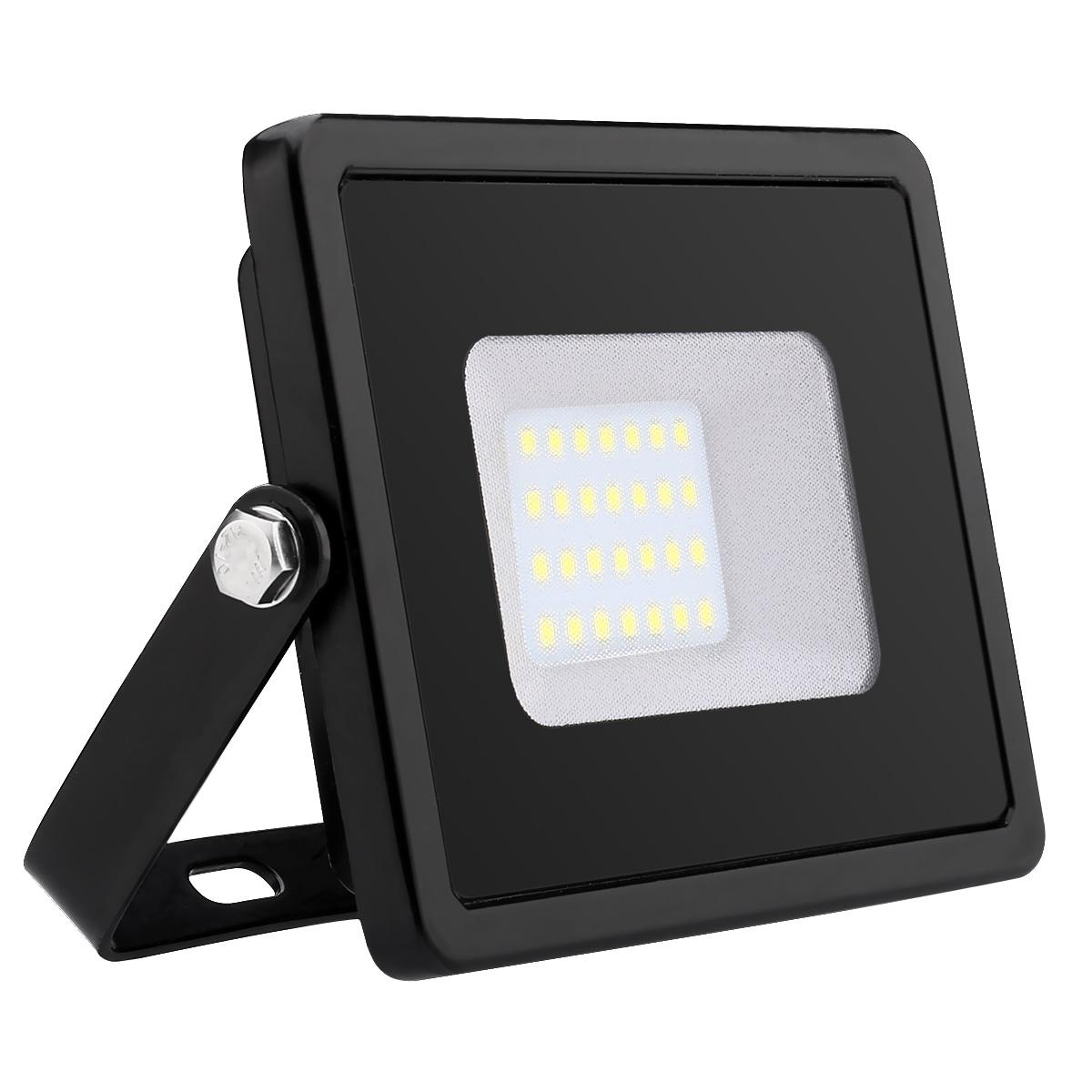 LED Fluter 20W, 1600lm Flutlicht, Wasserdicht LED Außenleuchten, ersetzt 200W Halogenlampe, Kaltweiß Flutlichtstrahler, Scheinwerfer
