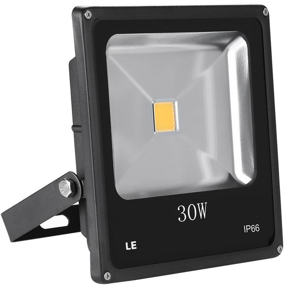 LED Fluter 30W, 1950lm Strahler , ersetzt 75W HS Lampe, Warmweiß, Wasserdicht, Außenleuchten