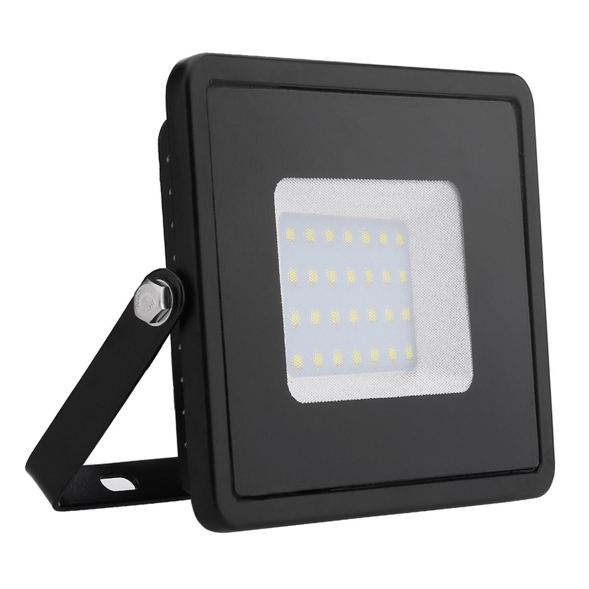 LED Fluter 30W, 2400lm Flutlicht, Kaltweiß, Wasserdicht Außenleuchten, ersetzt 75W Hochdrucknatriumlampe, LED Strahler, Scheinwerfer