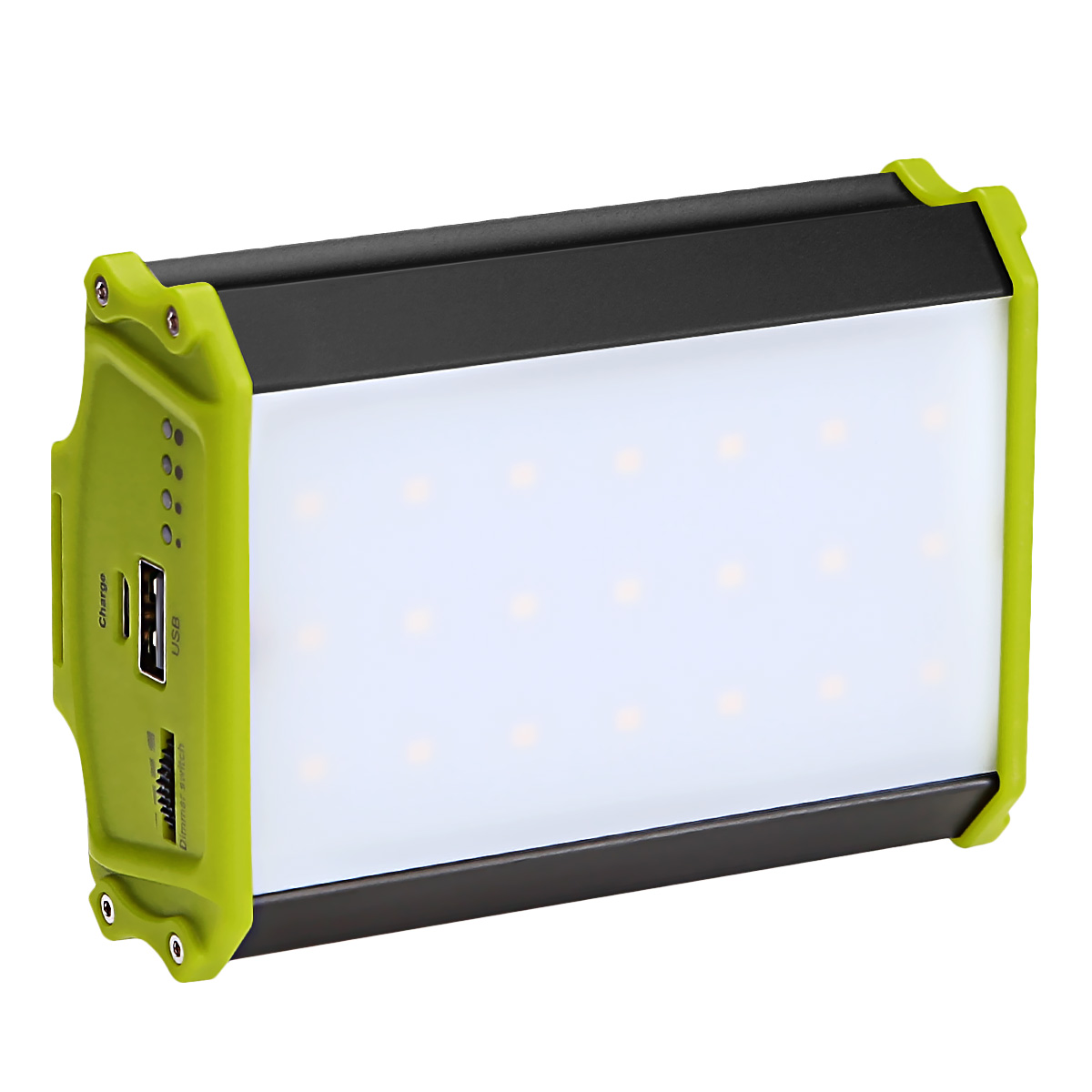 330lm LED Campinglampe, Dimmbar, USB Wiederaufladbar, Magnetisch, 4400mAh Energiebank