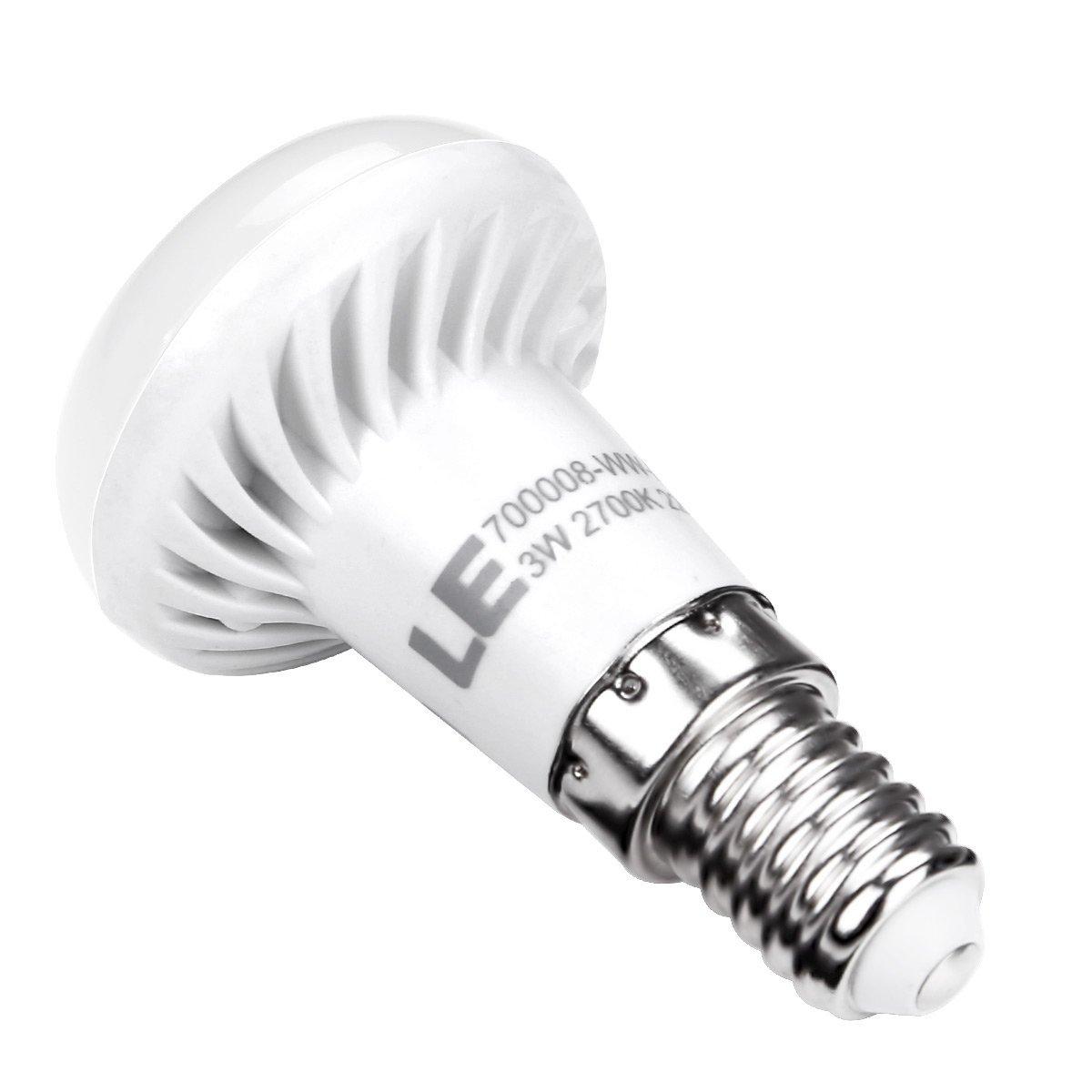 3W LED Reflektor R39, 250lm E14 Birnen, SES Lampen, ersetzt 25W Glühlampe, Warmweiß