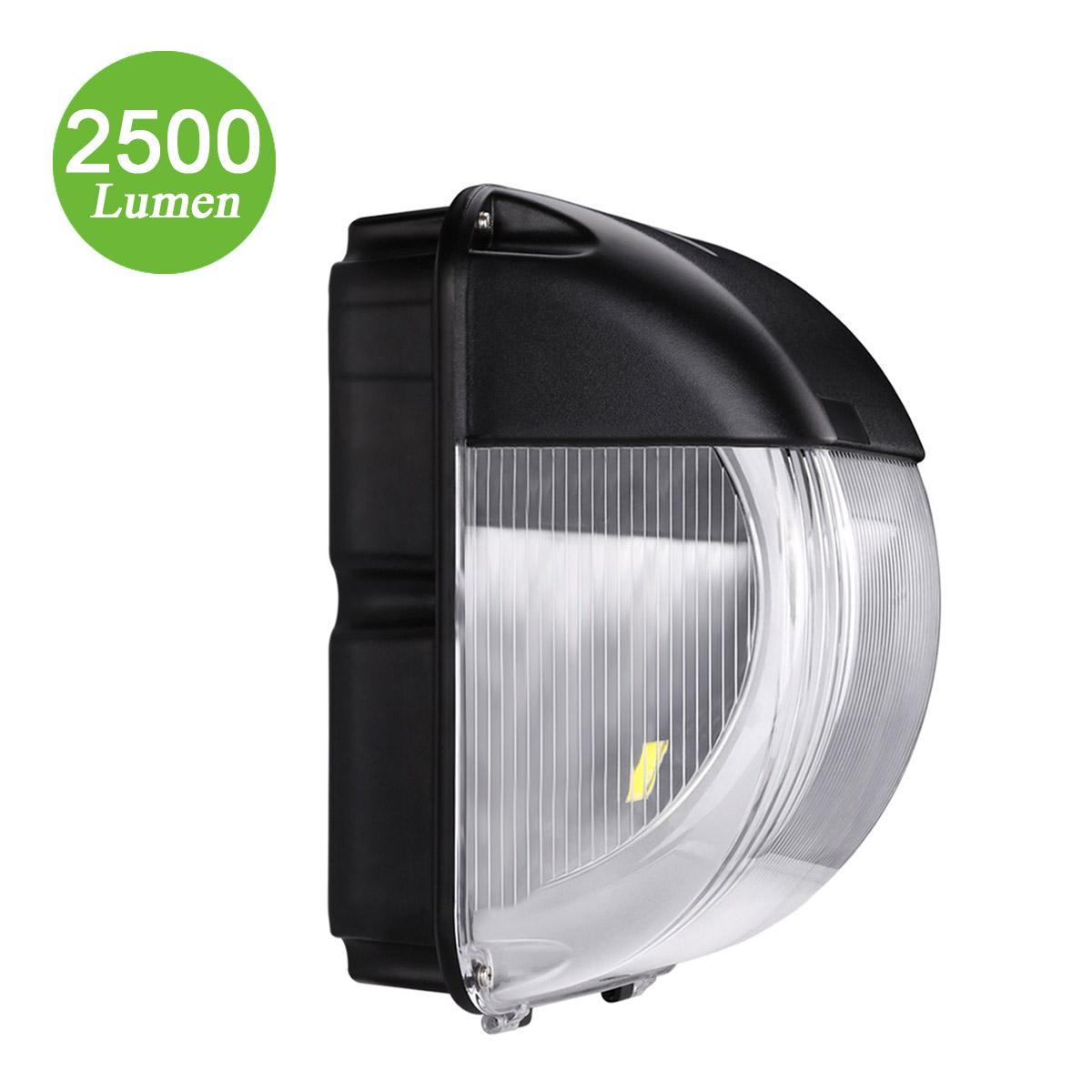 30W LED Außenwandleuchte, 2500lm Wandleuchten, ersetzt 80W HM-Lampe, Wasserdicht, Kaltweiß