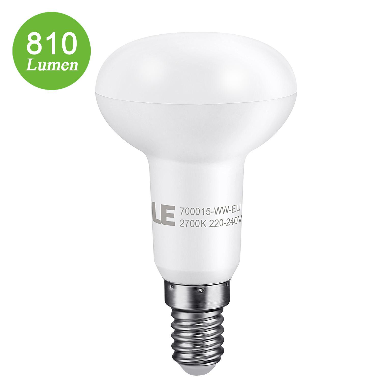 6W LED Reflektor R50, E14 450lm SES Birnen, 120 ° Strahler, 45W Glühlampen Equivalent, Warmweiß