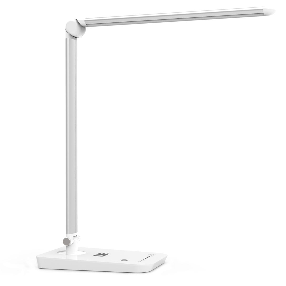 8W LED Tischlampen, Faltbar 500lm Schreibtischlampe, Touch-Sensor, Augenschutz