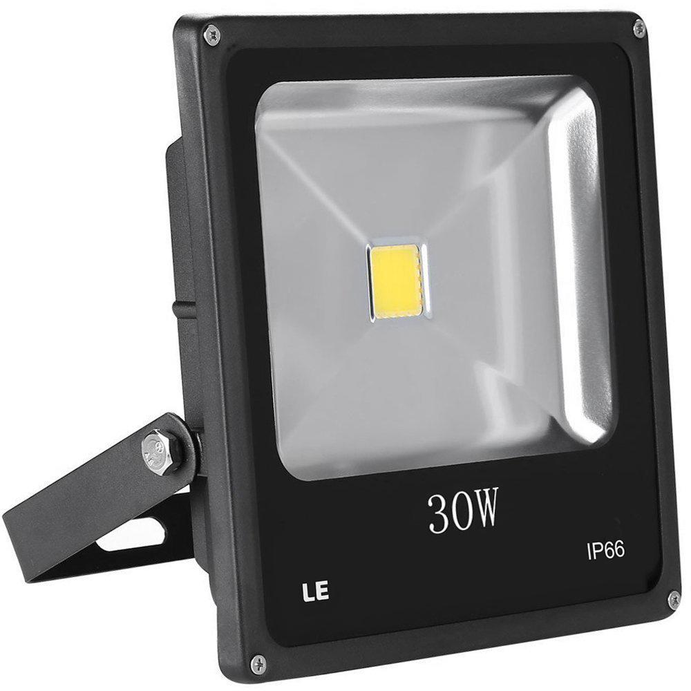 30W LED Strahler, 2250lm Scheinwerfer, ersetzt 75W HS Lampe, Kaltweiß, Wasserdicht